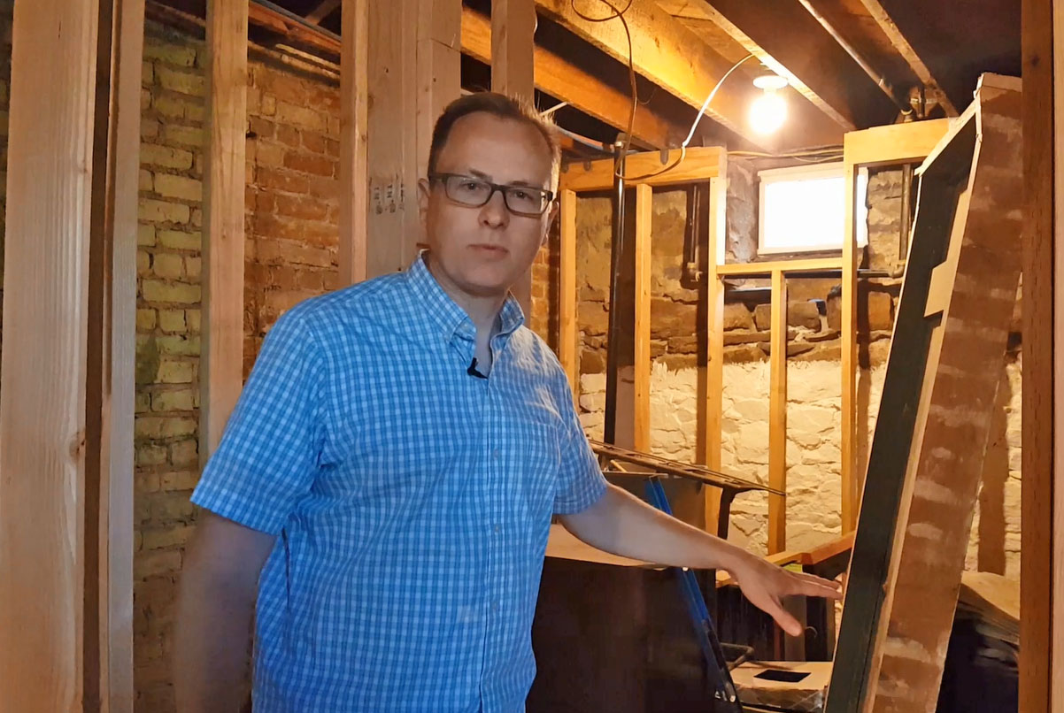 VIDEO: MY OLD HOUSE – Ep. 5 – Basement Floors and Framing