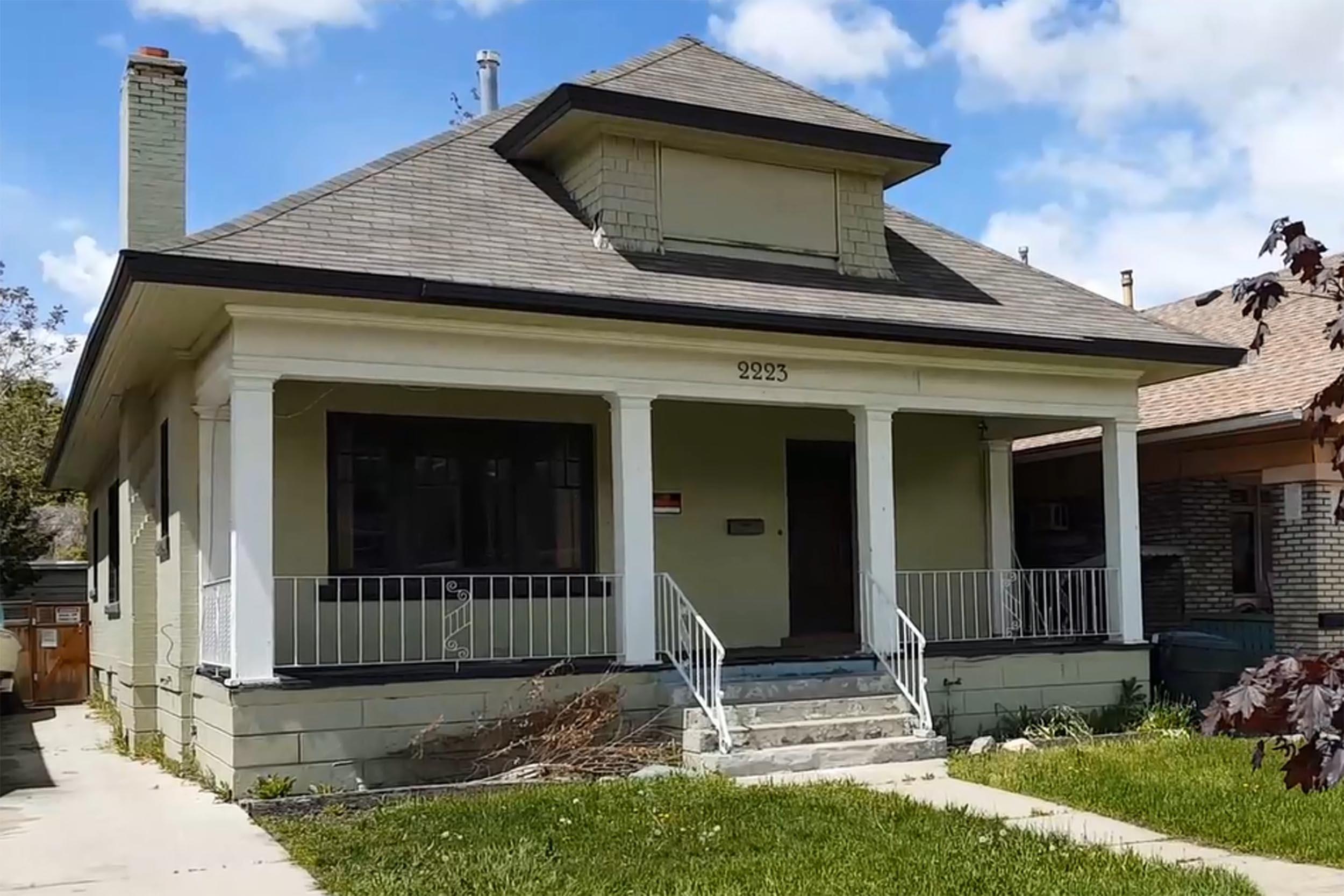 THE HIBBS HOUSE PROJECT:  A Craftsman Restoration