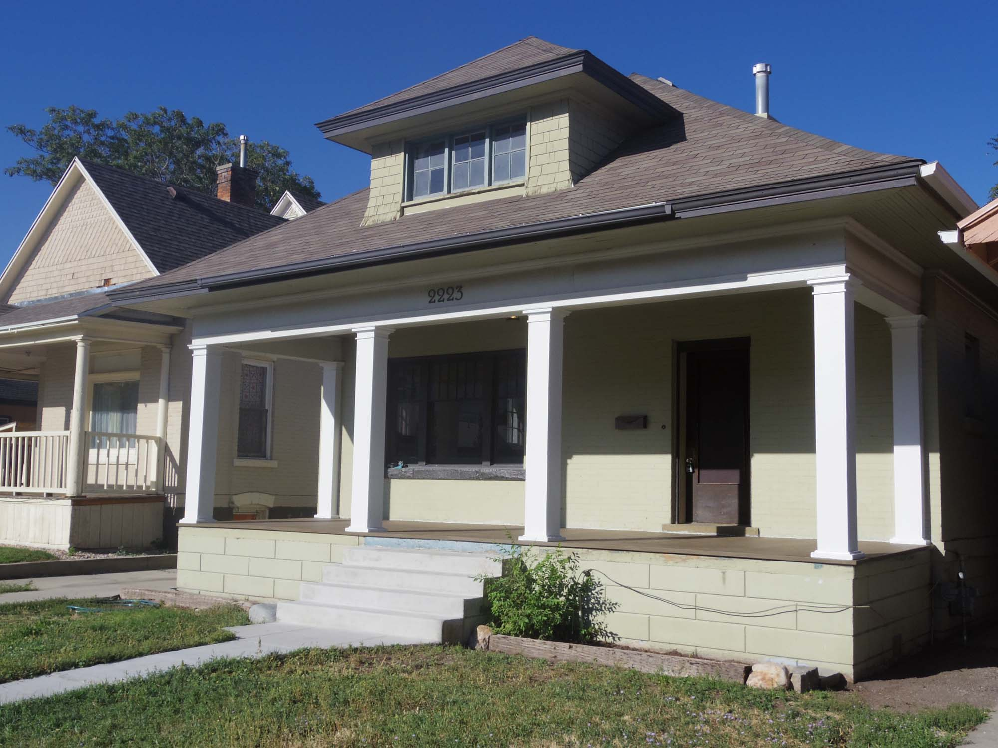 THE HIBBS HOUSE PROJECT: Before and After Photos
