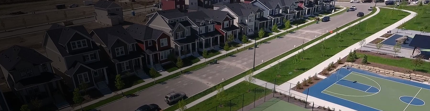 The Greenest <br /> Community in Airdrie