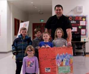 Students of Copperfield School Thank Vesta