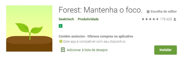 Forest/Google Play