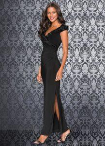 Vestido de Noite Preto