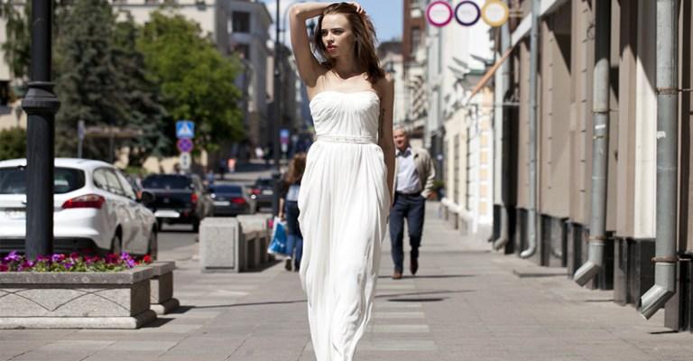vestidos longos dia a dia