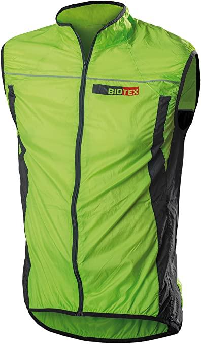 BIOTEX Windbiotex, Gilet Antivento Uomo colore verde