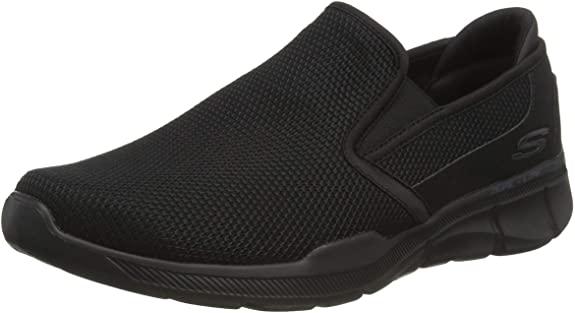 Skechers Equalizer 3.0-Sumnin-52937, Scarpe per camminare senza lacci, Uomo, nere