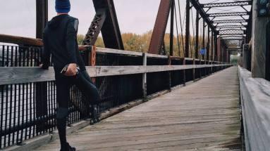 pantaloni invernali running