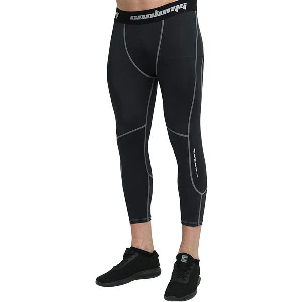 offerta Amazon COOLOMG pantaloni running invernali a compressione economici