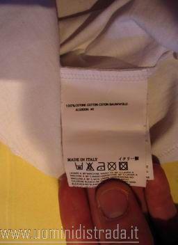 come riconoscere t-shirt e felpe dsquared