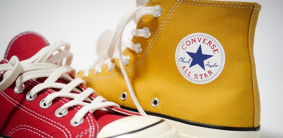 Nuova vita alle iconiche Converse Chuck Taylor All Star '70