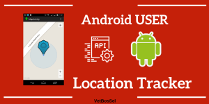 Android User Location Tracker Android device