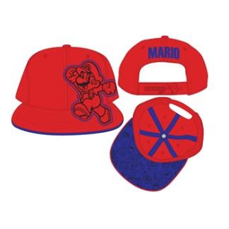 Red Mario Adjusteble Cap
