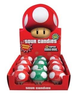 Nintendo Mushroom Sours heerlijke snoepjes!