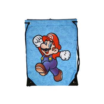 GYM BAG MARIO BLUE