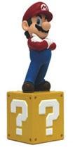 Mario Vinyl Figure op Sokkel 15cm