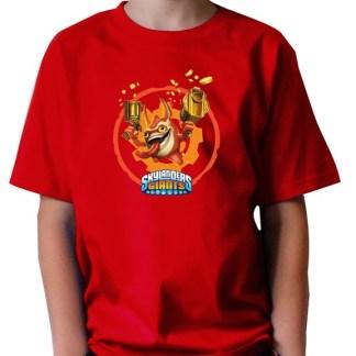 "Skylanders ""TRIGGER"" T-Shirt Maat 5/6 JAAR"