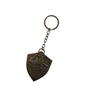 Zelda Sculpted Metal Keychain