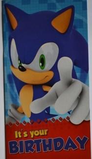 Sonic Wenskaarten