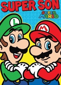 Super Mario Son verjaardagskaart!