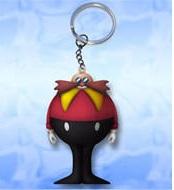 Dr.Eggman(Robotic) Anti Stress Sleutelhanger `Squeeze`