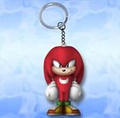 Sonic Anti Stress Sleutelhanger `Squeeze`