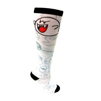 Boo Printed Knee High 1 Maat