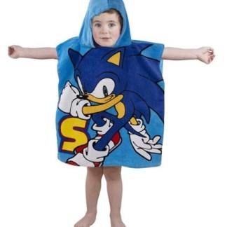 Sonic The Hedgehog Poncho
