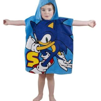 Sonic The Hedgehog Poncho