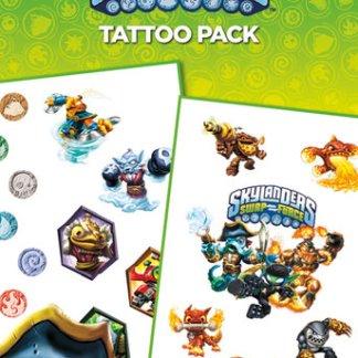 VC0129 Skylanders Swap Force Tattoo Pack