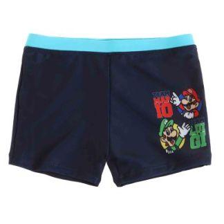 Super Mario Team Mario en Luigi zwembroek maat 140 (10Jaar)