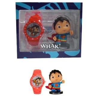 Superman Horloge + Minifigure