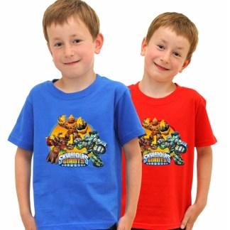 Skylanders Giants T-Shirts Limited Edition ROOD 9/11 Jaar