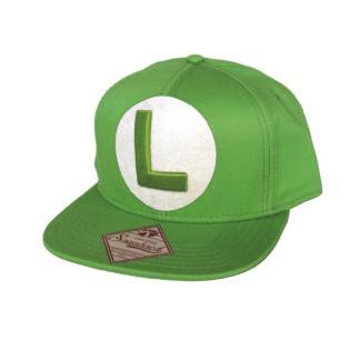 Groene Snapback Cap Met L logo