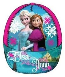 """Disney Frozen Caps """"Anna en Elsa"""" roze maat 54"""