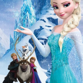 Frozen Mountain Maxi Poster 61 x 91,5cm