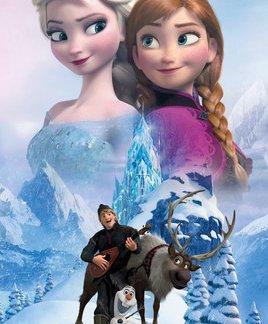 Frozen Collage Maxi Poster 61 x 91,5cm