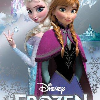 Frozen Metallic Foil Anna & Elsa Poster 47 x 67cm
