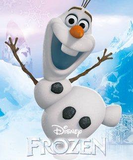 Frozen Olaf Mini Poster 50 x 40cm