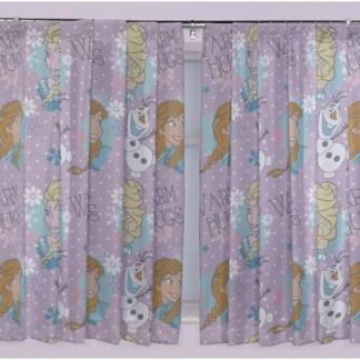Disney Frozen Gordijnen Set (168cm breed x 183cm lang)