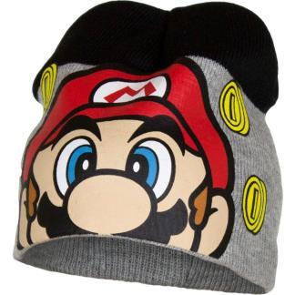 """Super Mario Muts """" grijs-zwart"""" maat 52"""