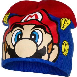 "Super Mario Muts ""blauw-rood"" maat 52"