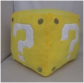 Nintendo Super Question Block pluche 25cm