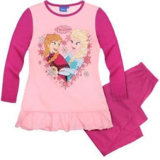 """Disney Frozen Pyjama """" Together Heart"""" Ruches maat 104"""
