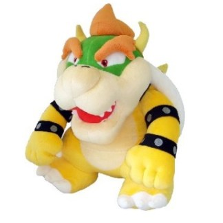 Super Mario Bros Bowser Knuffel Big 41cm