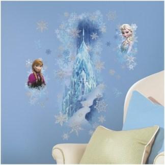 """Disney Frozen Mega Muursticker """"Ice Palace"""" met Glitter"""