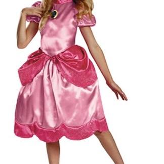 Princess Peach Verkleedjurk 7-8 jaar van Nintendo