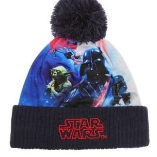 Star Wars-The Clone Wars Gebreide muts marineblauw maat 52