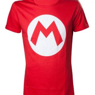 "Nintendo - Mario T- Shirt With Big M ""maat M"""