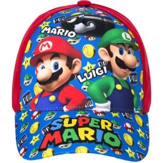 Super Mario en Luigi Cap rood