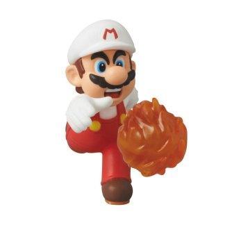 Fire Mario mini figuurtje 6cm UDF serie 2